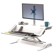 Fellowes Lotus Sit-Stand Workstation платформа для работы